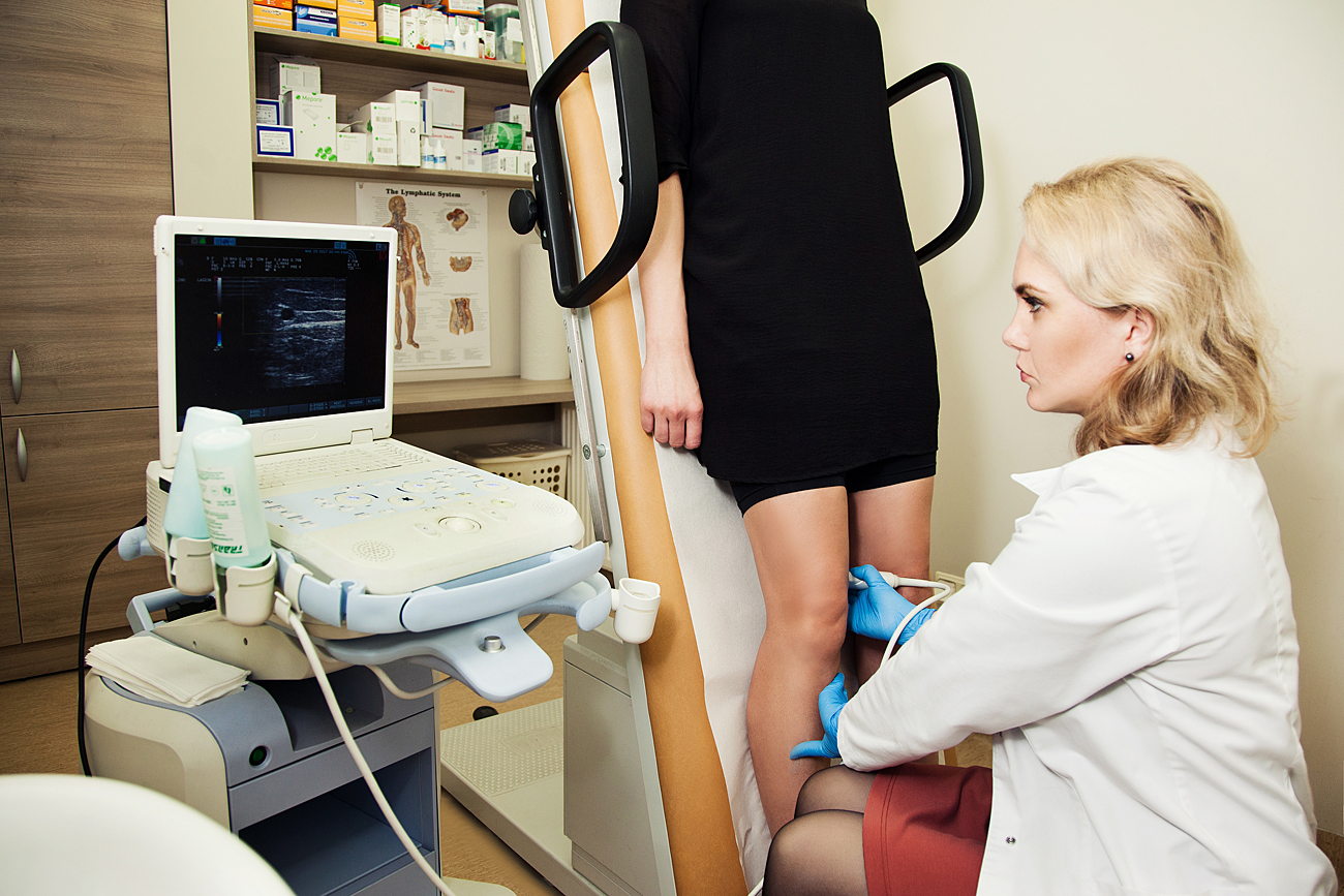 Koju venu tyrimas ultragarsu